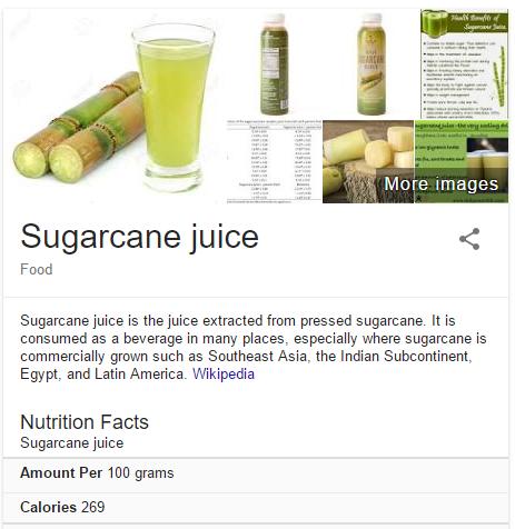 Sugarcane nutrition