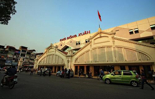 Dong Xuan market today